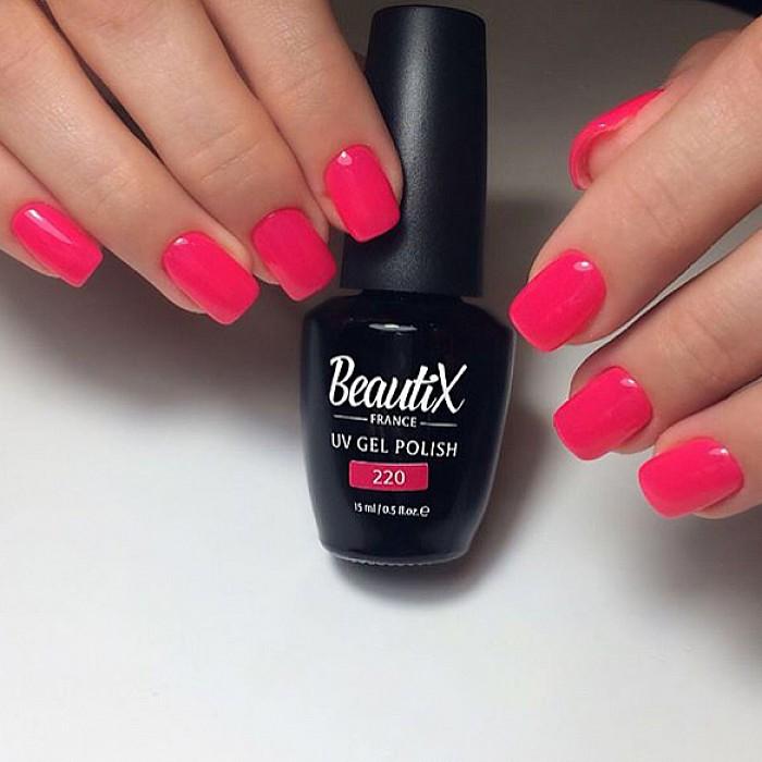Маникюр : Покрытие гель лаком Beautix