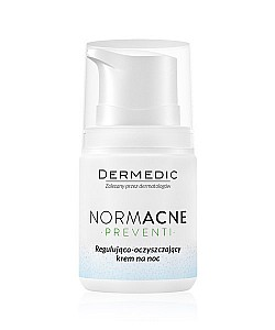 Dermedic : Normacne Regulating-cleansing night cream