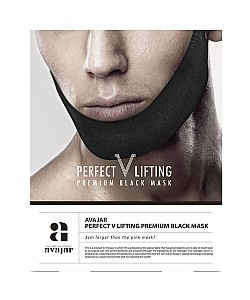 Avajar : perfect V lifting premium black mask